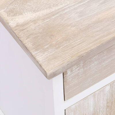 vidaXL Sängbord 2 st 38x28x45 cm kejsarträ