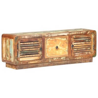 vidaXL TV-bänk 120x30x40 cm massivt återvunnet trä