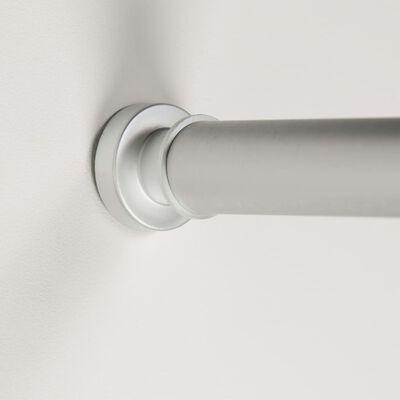 Sealskin Teleskopisk duschdraperistång 220 cm matt grå,