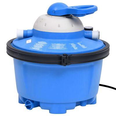 vidaXL Sandfilterpump blå och svart 385x620x432 mm 200 W 25 L