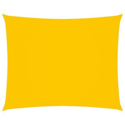 vidaXL Solsegel oxfordtyg rektangulärt 2,5x3,5 m gul