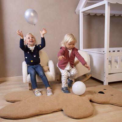 CHILDHOME Gungstol för barn teddy naturvit