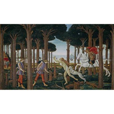 Novella di Nastagio degli onesti,Sandro Botticelli 06