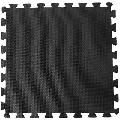 Pool Improve Skydd för poolgolv svart 50x50 cm 8 st
