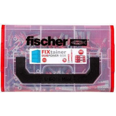 Fischer Väggpluggar FIXtainer DUOPOWER långa/korta 210 delar