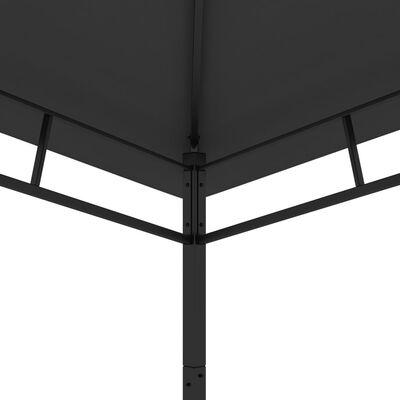 vidaXL Paviljong 4x4x2,9 m antracit 180g/m²