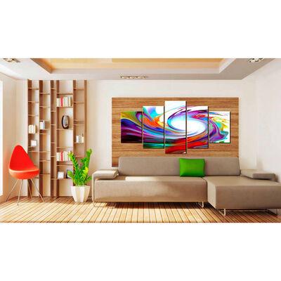 Tavla - Rainbow - Swirl - 200x100 Cm