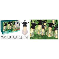 ProGarden Ljusslinga för trädgården med 10 LED 3,2 V