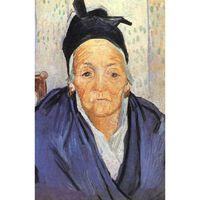 An Old Woman of Arles,Vincent Van Gogh,58x42.5cm