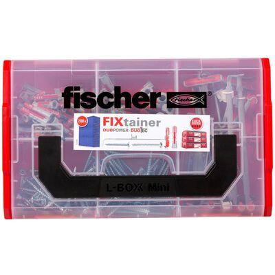 Fischer Pluggar med skruvar FiXtainer DUOPOWER/DUOTEC 200 delar