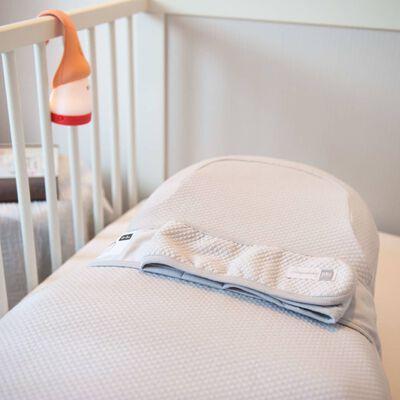 RED CASTLE Dra-på-lakan för spädbarn Cocoonababy grå