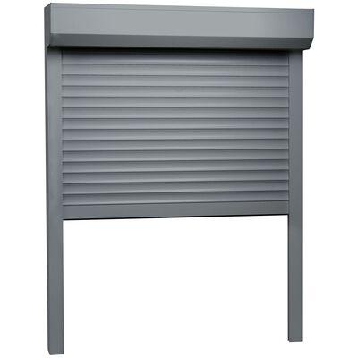 vidaXL Rulljalusi aluminium 70x100 cm antracit, Antracit