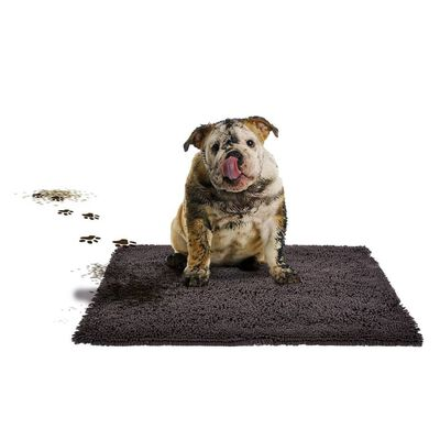 Duvo+ Matta för husdjur MagicClean 90x65 cm mörkgrå