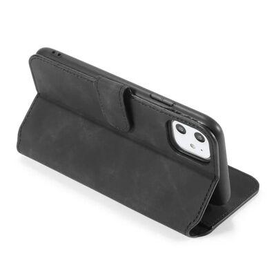 "Dg-ming Mobilplånbok 3-kort Apple Iphone 12 Mini (5.4"")-röd"