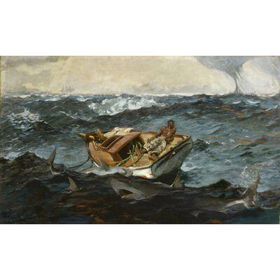 The Gulf Stream,Winslow Homer,60x40cm