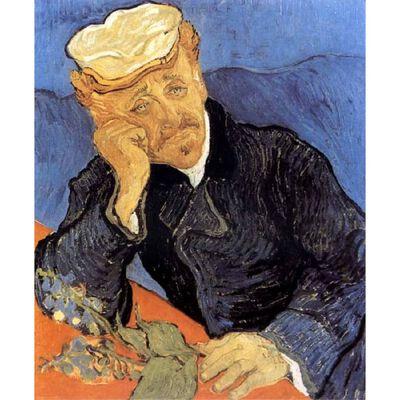 Portrait of Dector Gacher,Vincent Van Gogh,68x57cm
