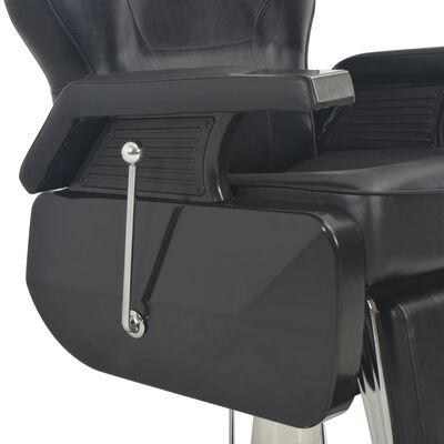 vidaXL Frisörstol 72x68x98 cm svart konstläder