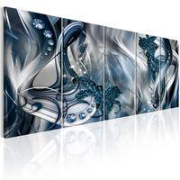 Tavla - Blue Glow - 225x90 Cm