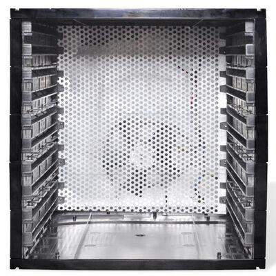 vidaXL Mattorkare med 10 brickor (kvadratisk)