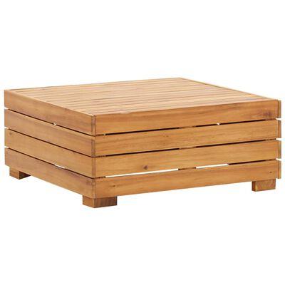 vidaXL Modulärt bord 1 st massivt akaciaträ