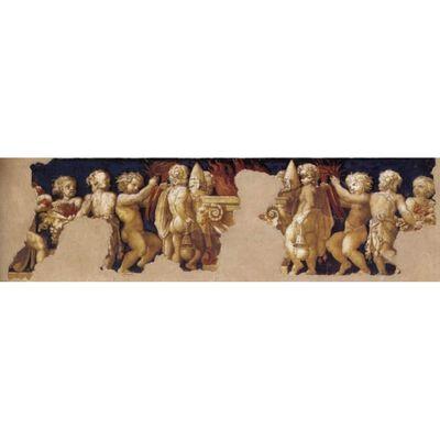 Frieze depicting the Christian Sacrifice,Correggio,80x40cm