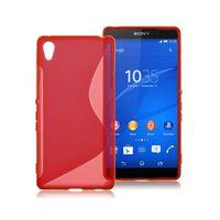 S Line silikon skal Sony Xperia Z2 (D6503) Röd
