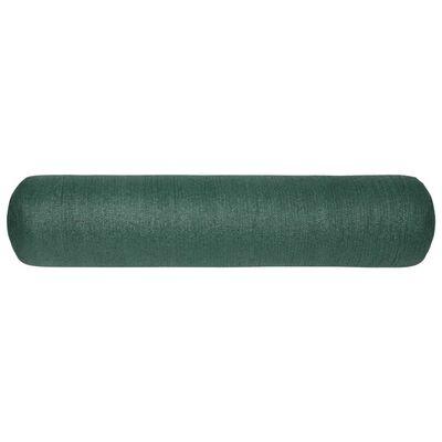 vidaXL Insynsskyddsnät grön 1x10 m HDPE 195 g/m²