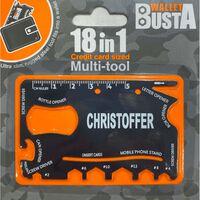 Joker Multitool Multiverktyg CHRISTOFFER kreditkort betalkort