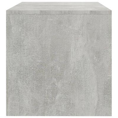 vidaXL TV-bänk betonggrå 100x40x40 cm spånskiva
