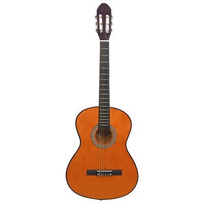 """vidaXL Klassisk gitarr 12 delar 4/4 39"""""""