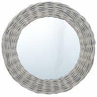 vidaXL Spegel 40 cm korgmaterial