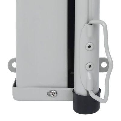 vidaXL Infällbar sidomarkis 180x300 cm gräddvit