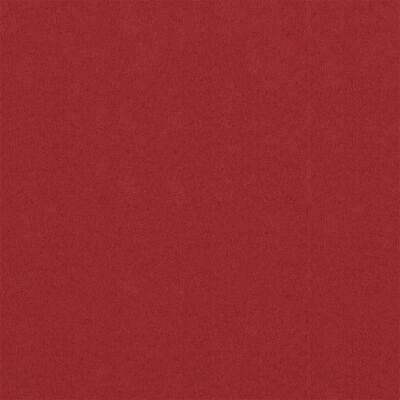vidaXL Balkongskärm röd 120x300 cm oxfordtyg