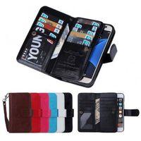 iPhone 8 Praktiskt Plånboksfodral 2in1 med 11-Fack Loop®