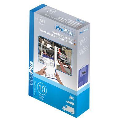 ProPlus Dokumenthållare för verkstad A4 10 st Lila 580042