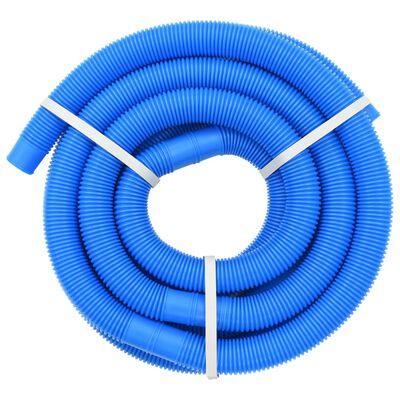 vidaXL Poolslang 32 mm 9,9 m blå