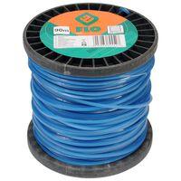 FLO Trimmertråd 2,4mm 90m blå