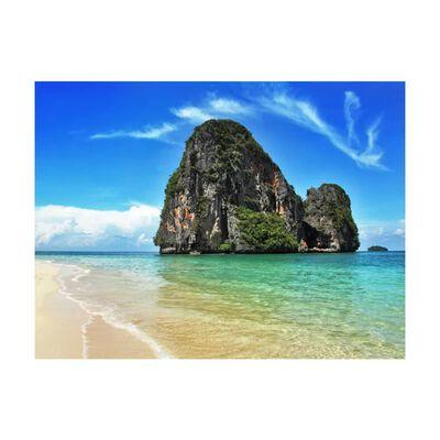 Fototapet - Exotisk Landskap I Thailand, Railay Beach - 300x231 Cm