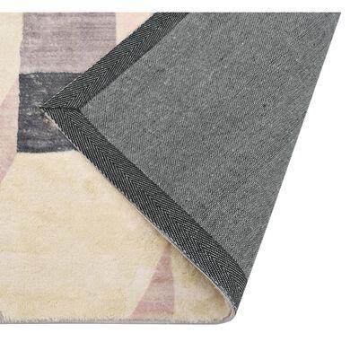 vidaXL Matta flerfärgad 140x200 cm polyester
