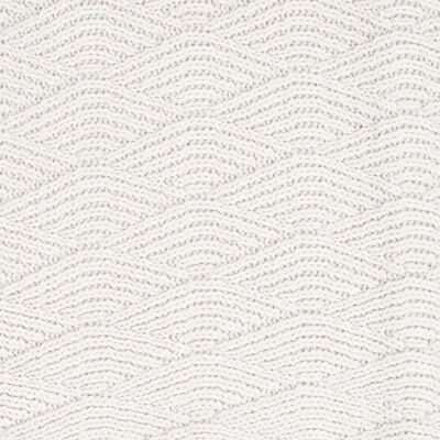 Jollein Filt River Knit 100x150 cm fleece gräddvit