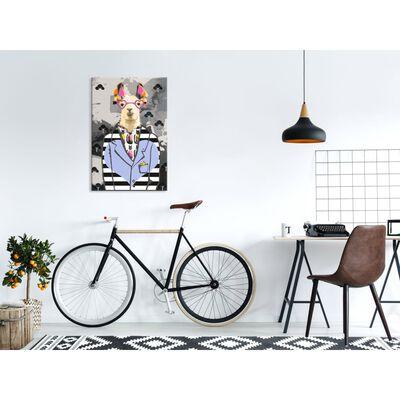 Gör-det-själv Målningar - Crazy Alpaca - 40x60 Cm