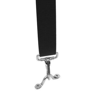 vidaXL Spännband till båtkapell 2 st tyg och rostfritt stål