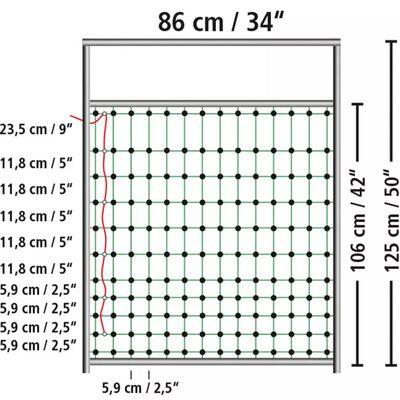 Kerbl Grind för elstängsel 95-125 cm 446518