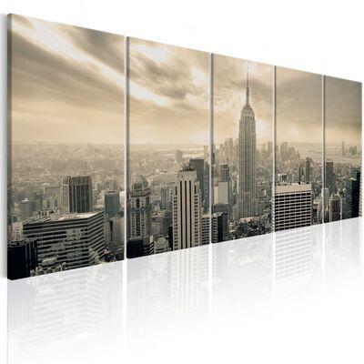 Tavla - Beige Manhattan - 200x80 Cm