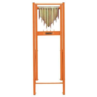 Draper Tools Sågbock för stockar 150 kg orange
