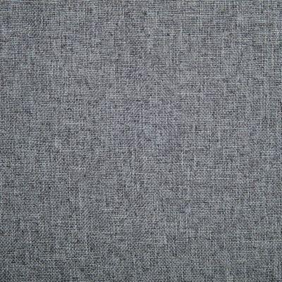 vidaXL Snurrbara matstolar 4 st ljusgrå tyg