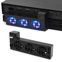 Kylfläkt för Xbox One X med extra USB-port