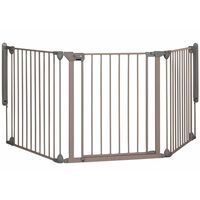 Safety 1st Barngrind med 3 paneler Modular 3 grå 82-214 cm 24226580