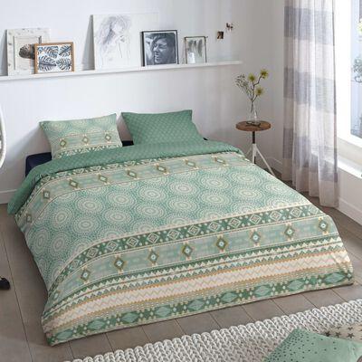 Good Morning Bäddset PITRI 155x220 cm grön