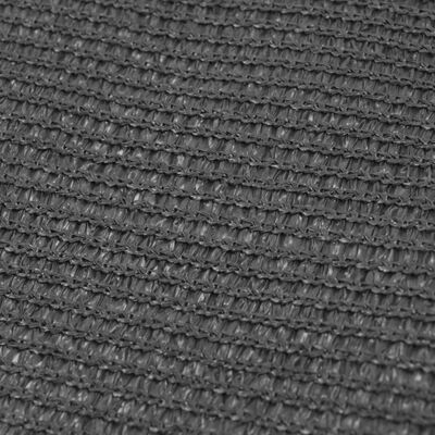 vidaXL Tältmatta 250x500 cm antracit